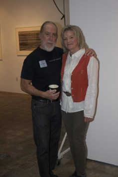 Ray and Arnee Carofano in their Gallery.