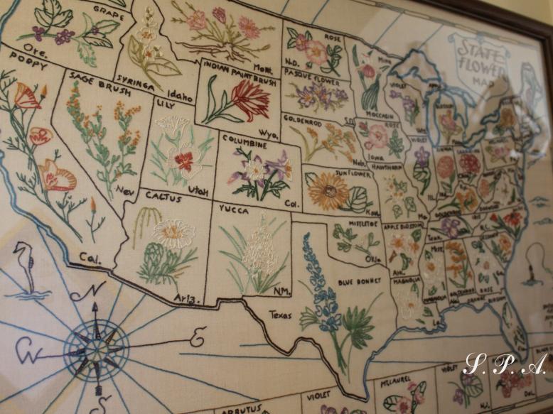 Judy-flower map